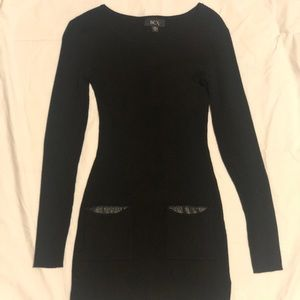 BCX Rib Knit Sweater Dress